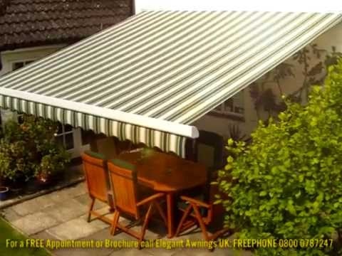 Patio Awnings by Elegant Awnings