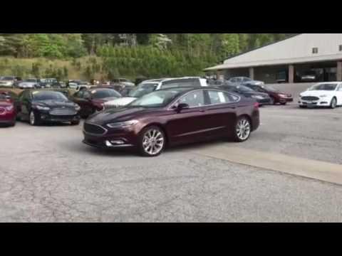 2017 Ford Fusion Platinum Parallel Parking