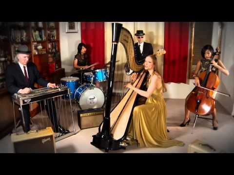 """""""Giant Mushrooms"""" - Erin Hill - pop harpist & singer"""