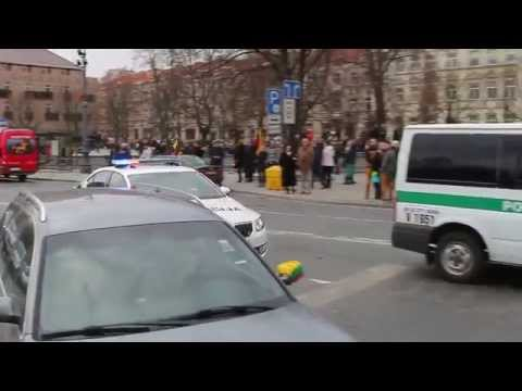 Lithuanian Police Responding