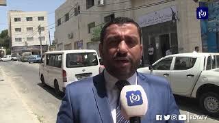 إخلاء مديرية أوقاف إربد بسبب حريق - (4-8-2019)