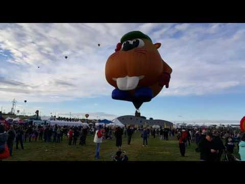 Albuquerque International balloon radio 2015