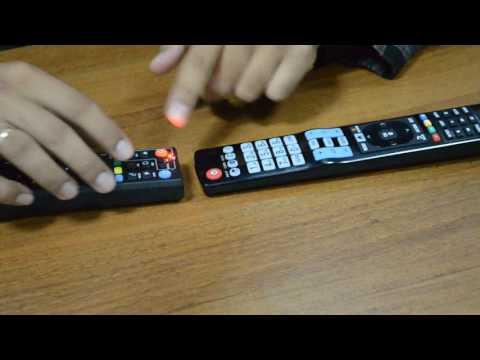 Как включить телевизор с двумя пультами