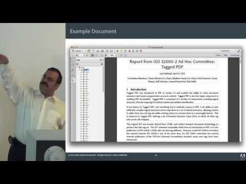 The Back Alleys of PDF -- Leonard Rosenthol, Adobe Systems