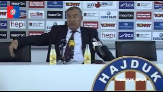 Poklepović uoči utakmice Zagreb - Hajduk