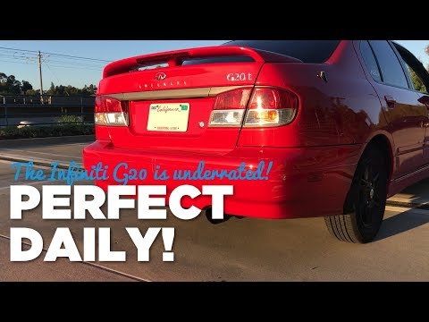 Underrated Daily Driver?! | 1999 Infiniti G20t