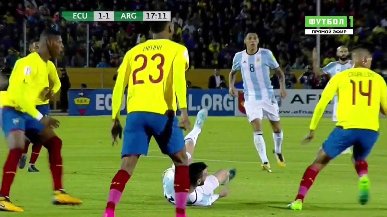 Download Lionel Messi Vs Ecuador Away 11 10 2017 HD 720p By Football highlights