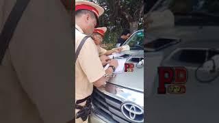 Tài Xế Lấy Được Biên Bản Của CSGT Tiền Giang Vui Như Tết   PDTV