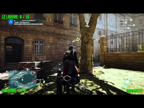 Assassins Creed Unity - All Cockade Locations - Le Louvre ...