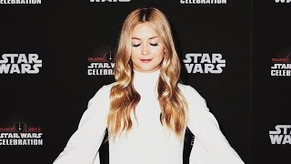 Billie Lourd Dressed as Princess Leia to Honor Late Mother Carrie Fisher at 'Star Wars Celebratio…