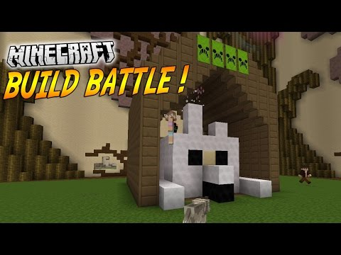 OHHH LA BELLE NICHE ! | BUILD BATTLE ( Avec Popigames ) | Minecraft
