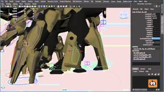 Rigging an Animation Mech Character -  How to use the Rig 3/3
