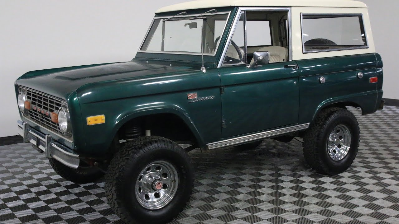 1976 FORD BRONCO GREEN