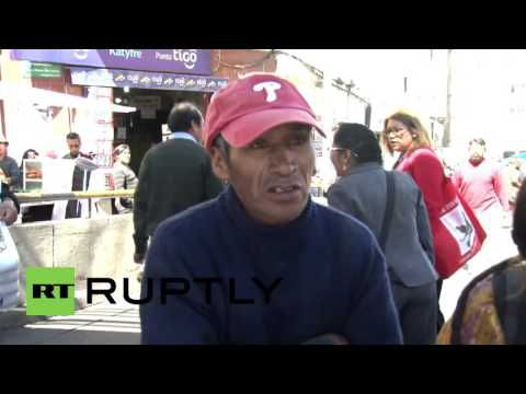 Bolivia: Clashes erupt between disabled protesters and police in La Paz
