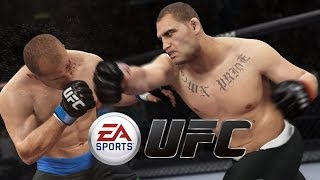 EA SPORTS UFC Gameplay - GameRiot vs GhostRobo