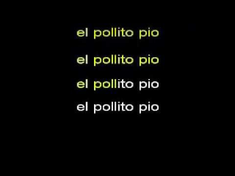 DEMO    El Pollito Pio Karaoke