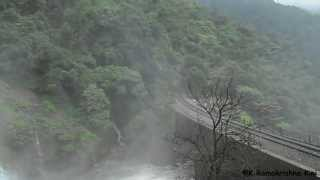 Dudhsagar Waterfalls at its best - CHENNAI EXPRESS Shooting location