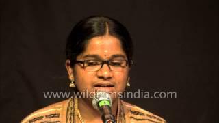 Carnatic vocal by Kumari Vaishnavi Ayyappa