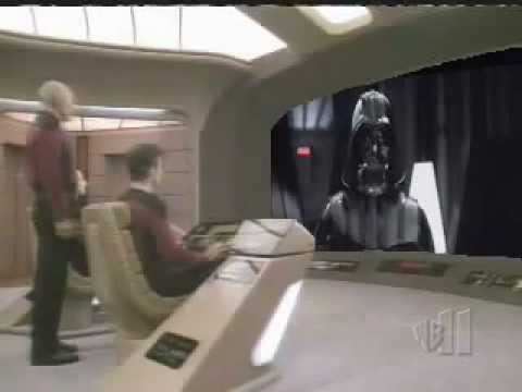 Darth Vader vs. Captain Picard