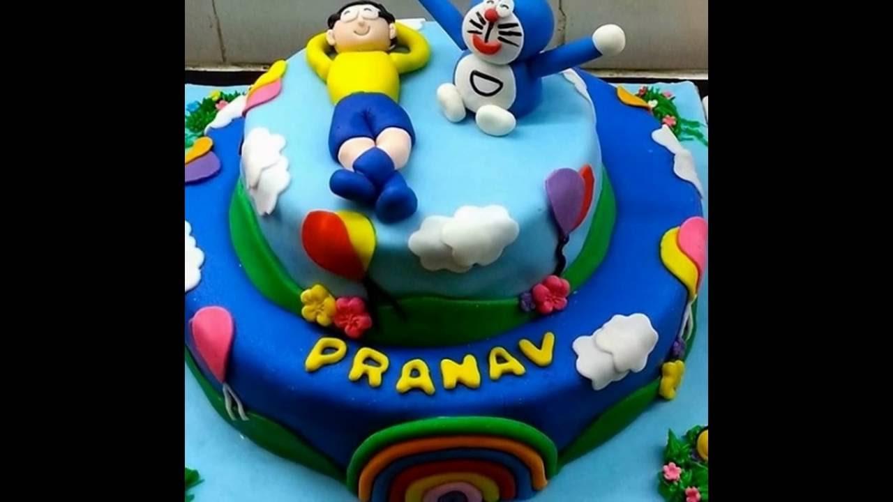 Beberapa Hiasan Kue Doraemon Untuk Ulang Tahun Anak Youtube