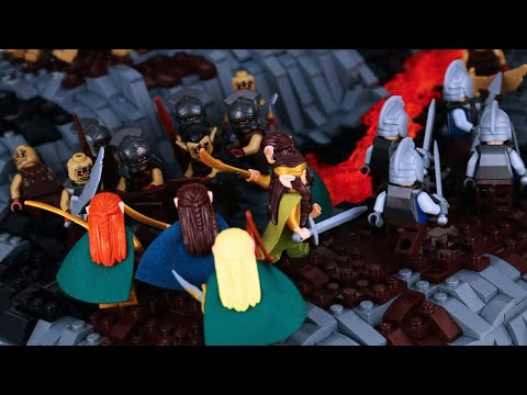 LEGO The Battle Of Dagorlad | Lord Of The Rings MOC | Second Age Collaboration