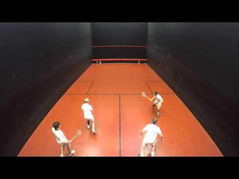 British open rackets doubles semi final 2016