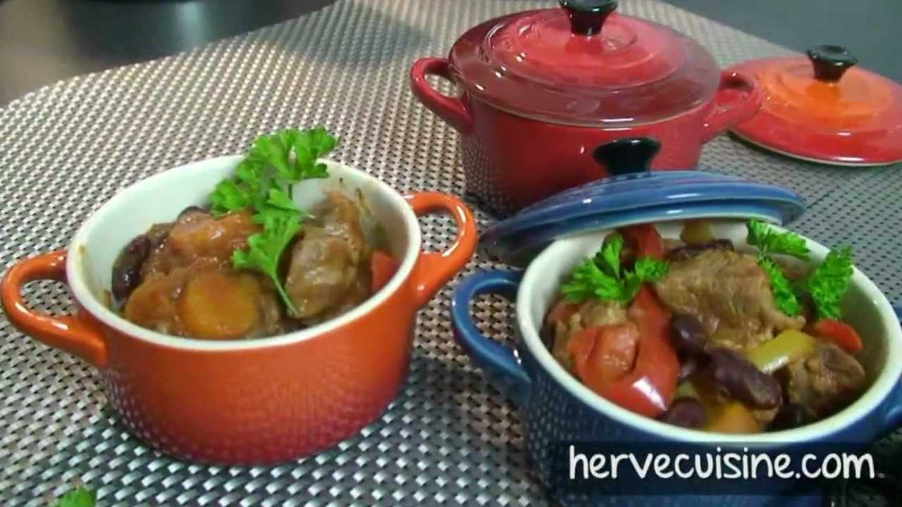 recette du veau la texane par herv cuisine youtube. Black Bedroom Furniture Sets. Home Design Ideas