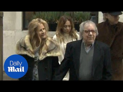Bill Wyman's latest public appearance: Murdoch & Hall wedding - Daily Mail