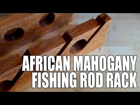 Building A Fishing Rod Rack - (Building Charles James) Ep 03