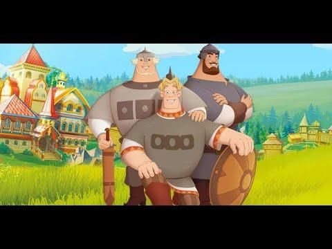 игра мультики Три Богатыря и Шамаханская Царица (мультфильм)