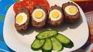 Яйцо по - шотландски.