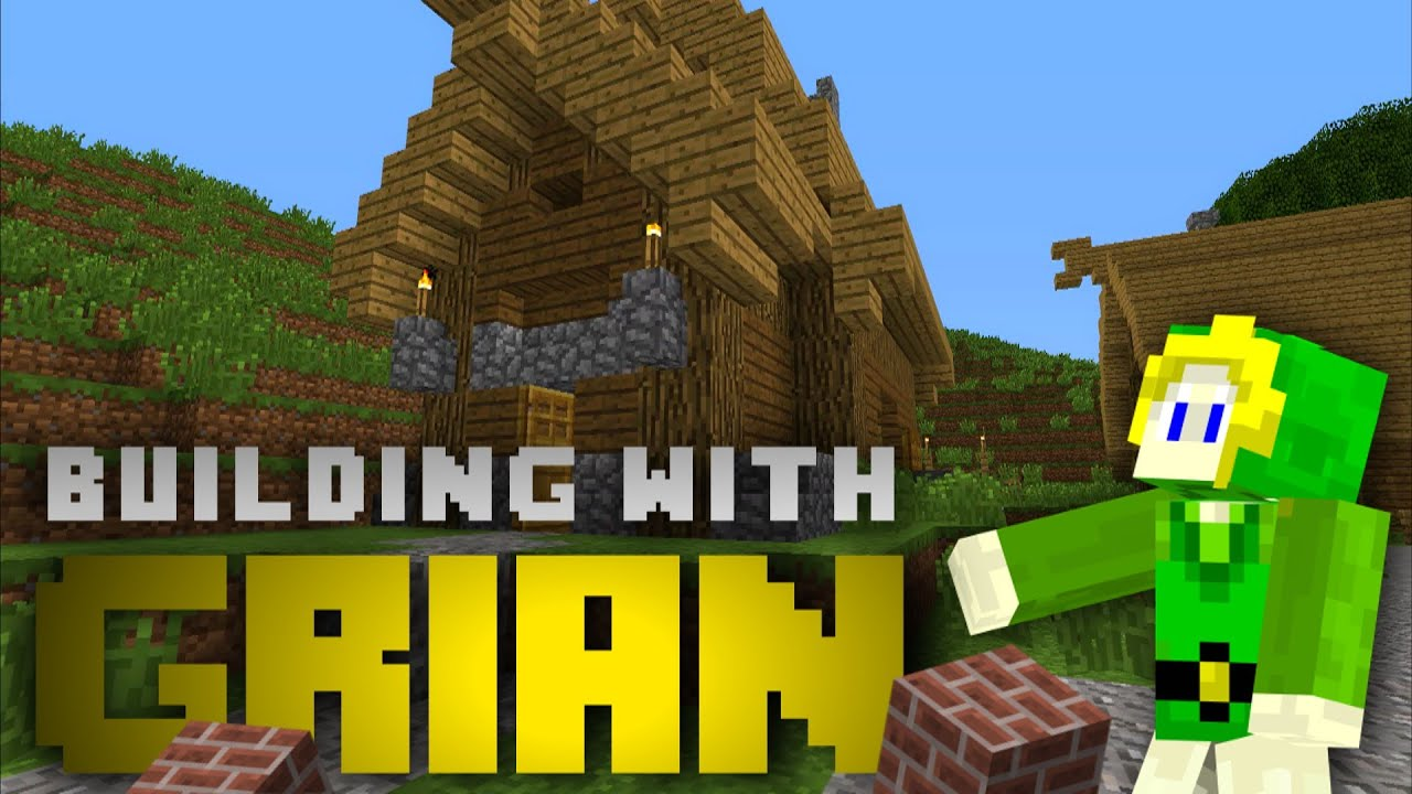 Building With Grian Viking Roof Youtube