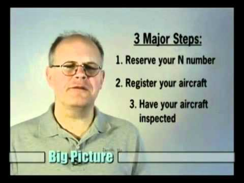 How to License Your Homebuilt Aircraft Video by HomebuiltHELP