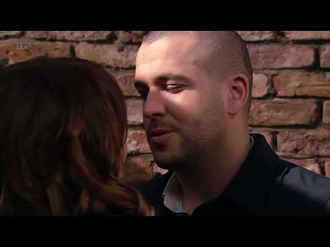 Coronation Street - David Sees Maria and Aidan Leave an Alleyway Together