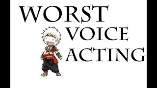 Top 10  WORST Voice Acting in JRPGs