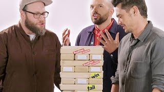 The Cast of 'The Disaster Artist' Play Truth or Dare Jenga