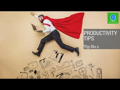 Personal Productivity Tips (tip-1 how to manage your energy sources)