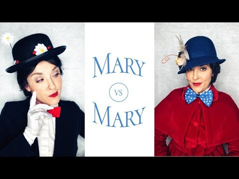 MARY POPPINS MAKEUP & DIY COSTUMES