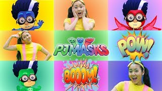 Romeo from PJ Masks Teaches Ellie About Colors | Learning Color for Kids