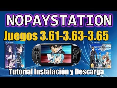 NoPayStation Browser juegos 3.61 3.65 para CFW 3.65 ENSO ( Obligatorio Nuevo nonpdrm)