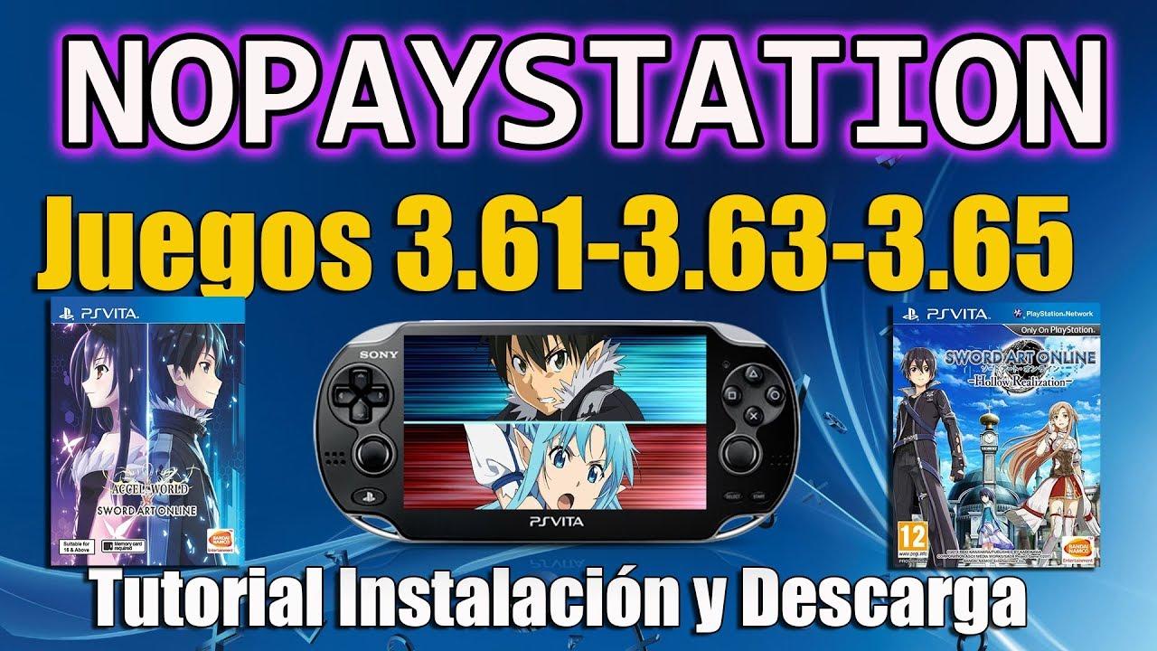 NoPayStation Browser juegos 3 61 3 65 para CFW 3 65 ENSO ( Obligatorio  Nuevo nonpdrm)