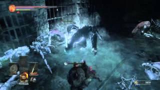 Dark Souls 3: Network Test - Frost Knight Encounter
