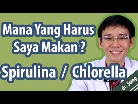 Mana Yang Harus Saya Makan Spirulina atau Chlorella