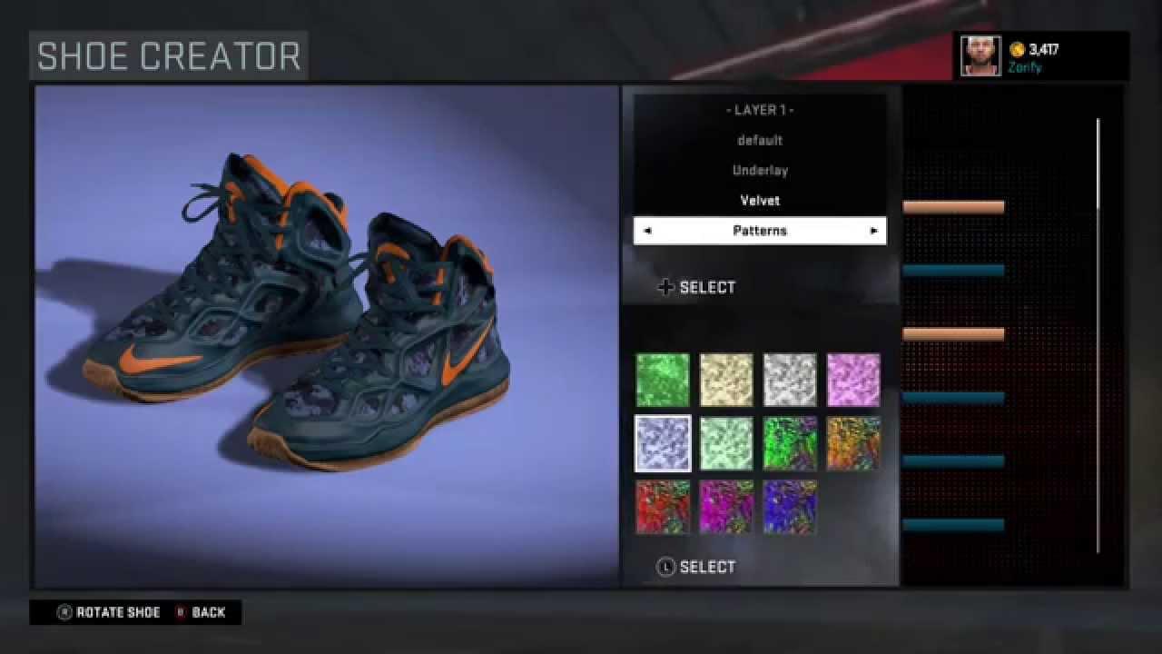 NBA 2K16 Shoe Creator - Nike Hyperposite 2