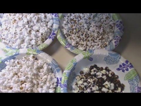 Popcorn Test - Glass Gem Corn vs Grocery Store Popcorn and Indian Corn