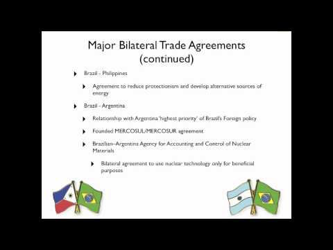 Section C - Impact of Foreign aid and Trade on Brazil