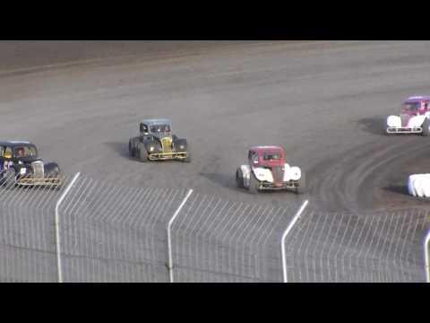 Red River Valley Speedway INEX Legends Heats (5/19/17)