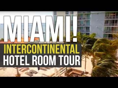InterContinental Hotel Miami Room Tour