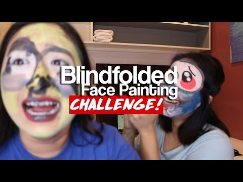 LAUGH TRIPPING AND BLINDFOLDED CHALLENGE with Kayem Raposas
