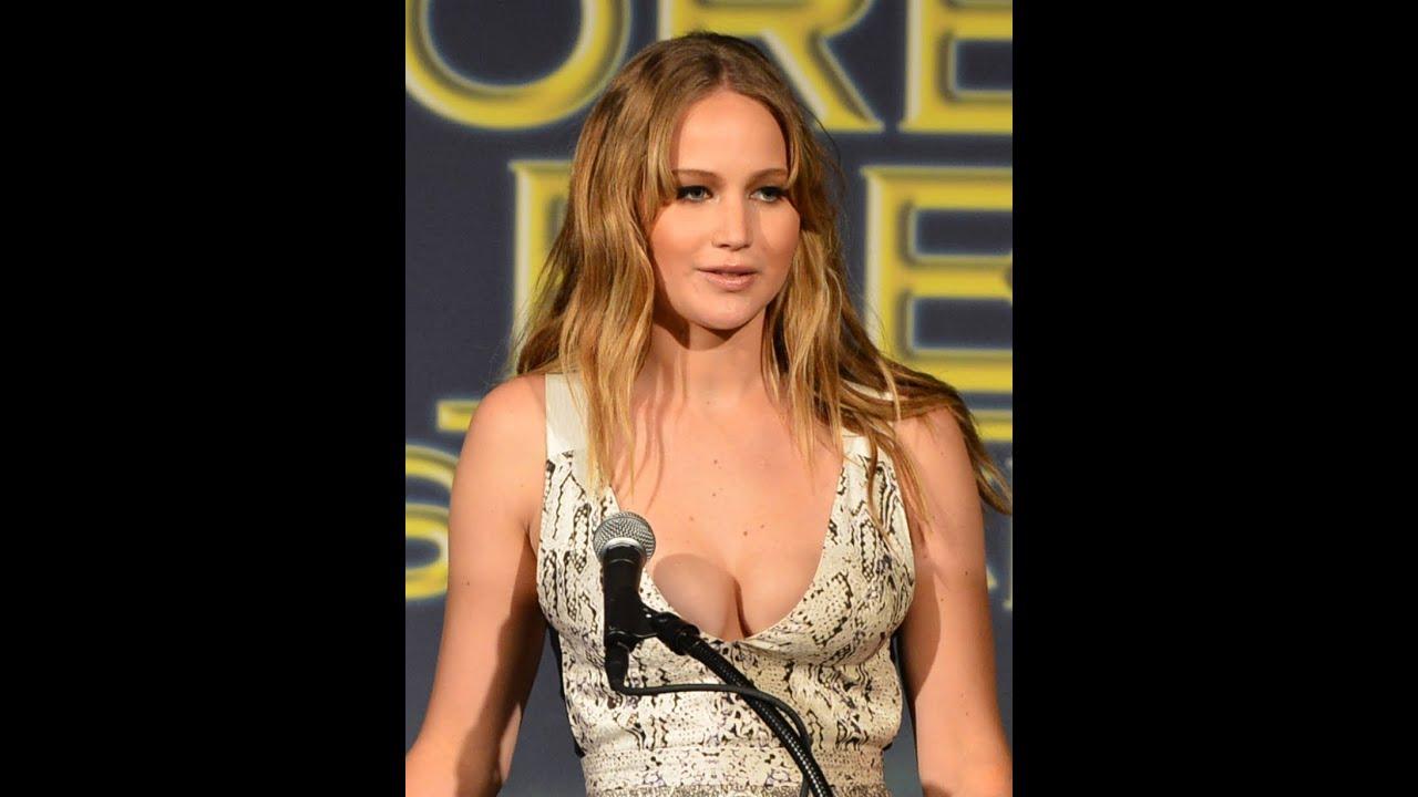 Jennifer Lawrence Hot Words About Lip Kisshot Bikinis - Youtube-1437